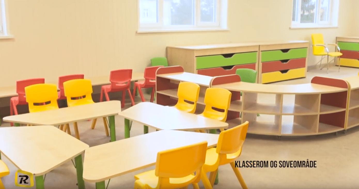 Film: Leveranse av barnehagebygg