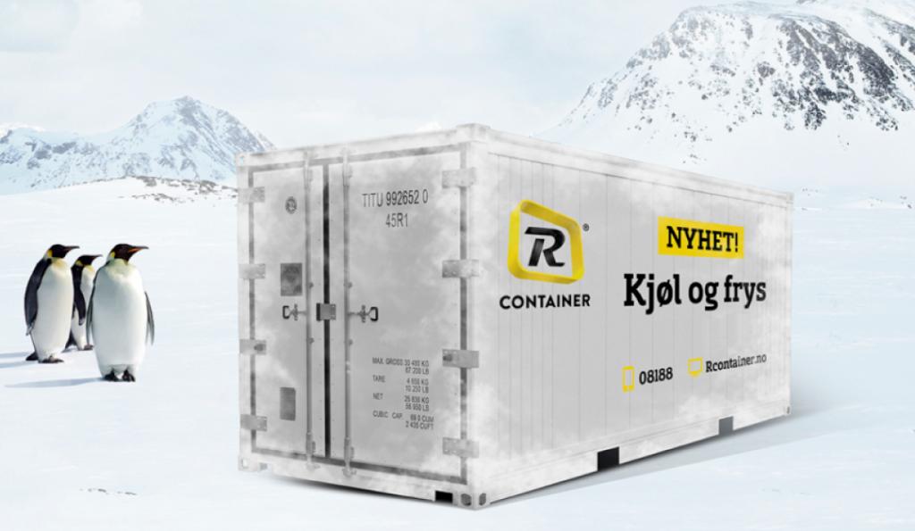 frysecontainer rcontainer frakte kjølig last
