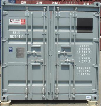 10′ Åpen Topp Offshore Container PLT-327