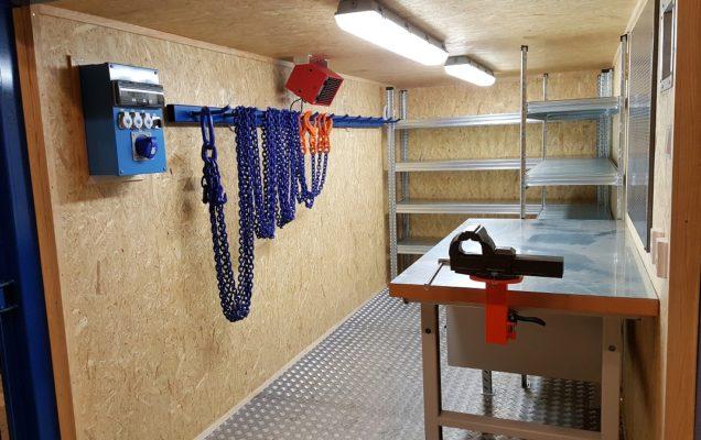 7 stk. Spesiallagde containere til Oslo kommune