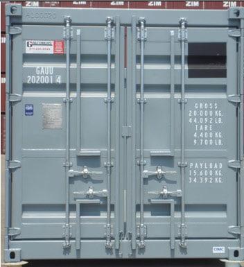 20′ Åpen Topp Offshore Container PLT-338