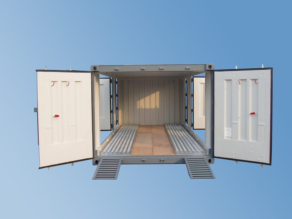 20ft-biltransportvogn-container