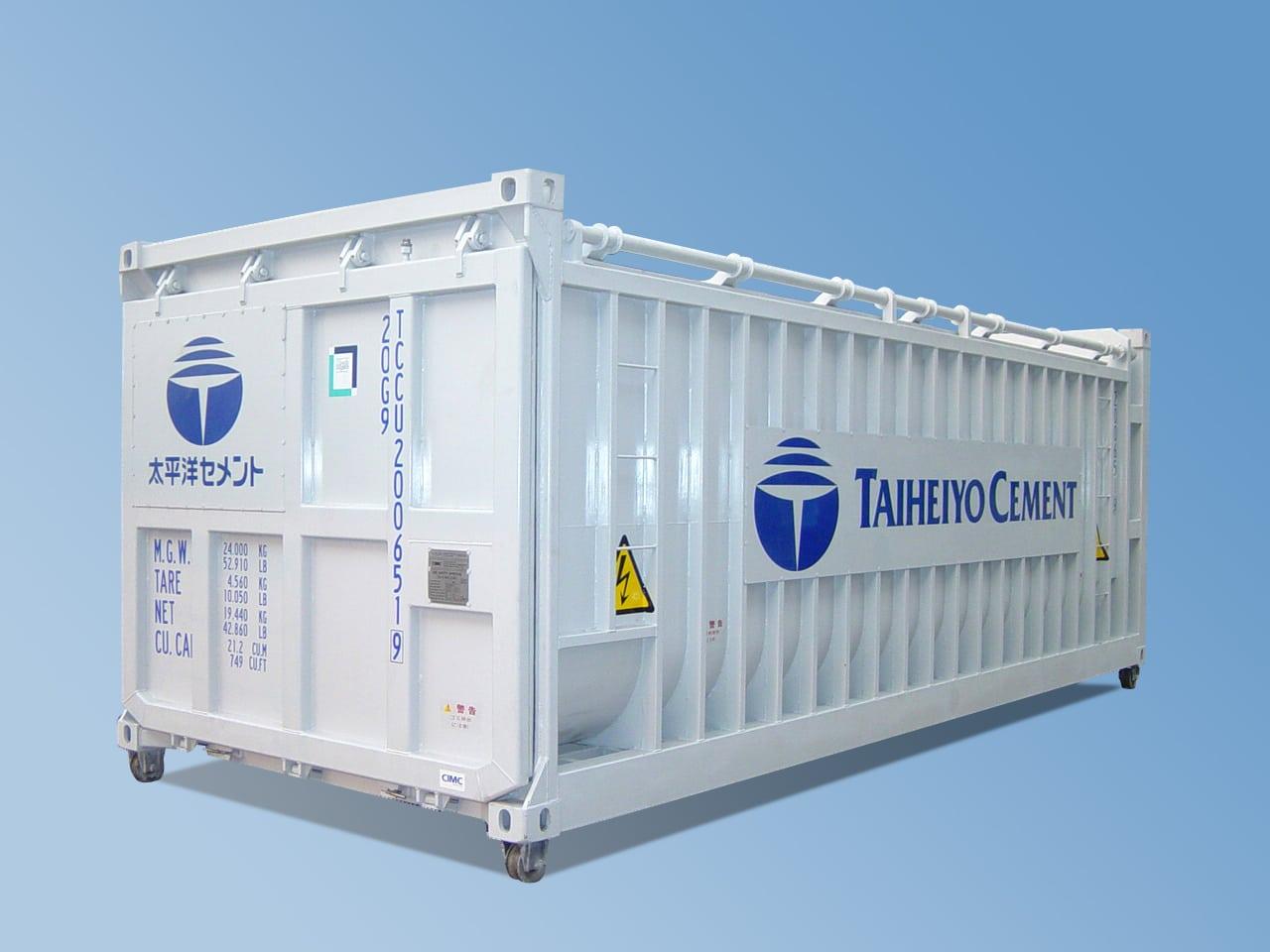 20′ Bulkcontainer for Brent Aske
