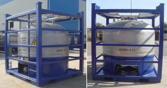 4000 Liter Vertikal Offshore Tank FN T7 PLT-207