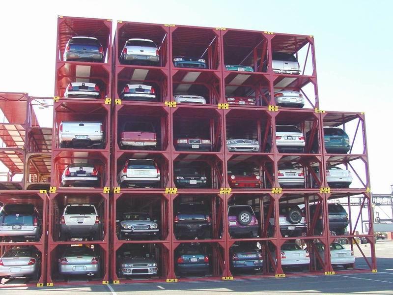 40ft Biltransportvogn Container