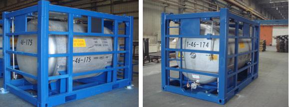 4600 Liter Horisontal Offshore Tank FN T7 PLT-365