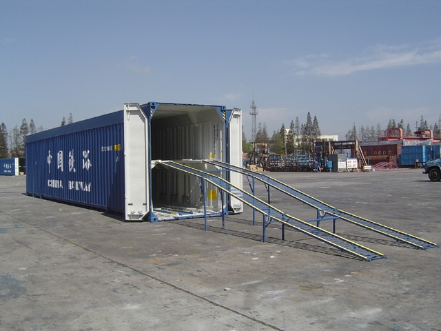 50′ Dobbeldekk Biltransportvogn for Kinesisk Jernbane