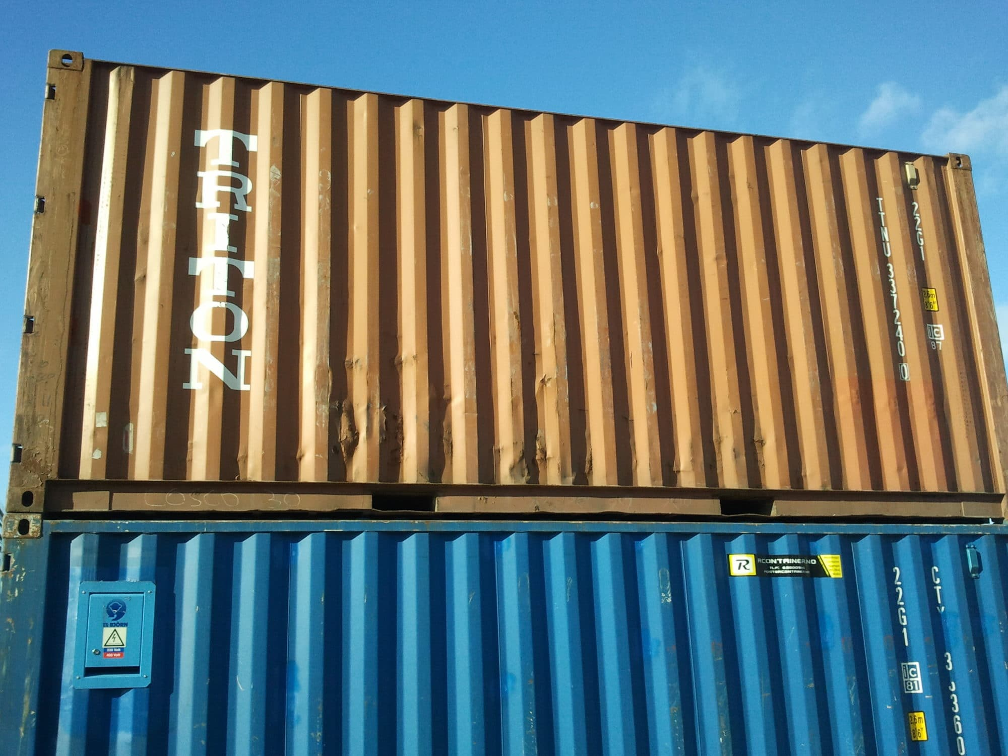 Brukt 20 ft. Shipping Container