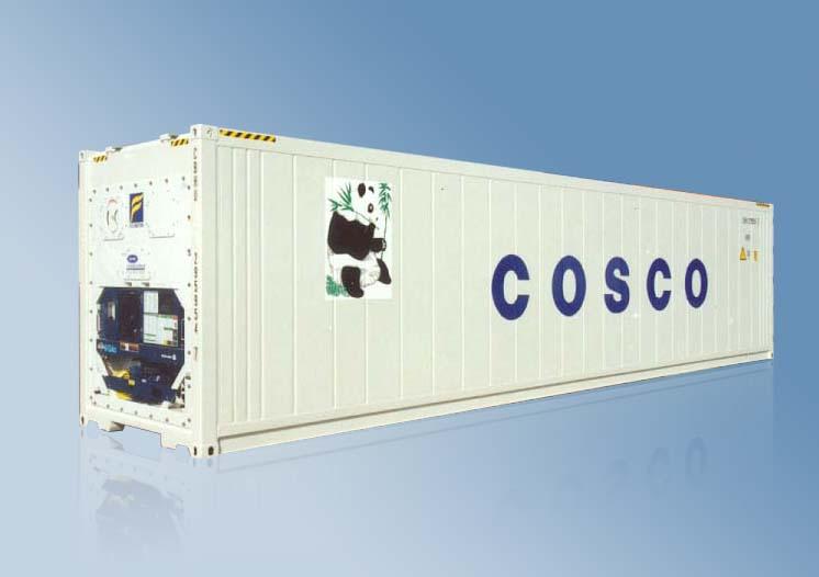Brukt 40 ft Kjøl/Frys Container