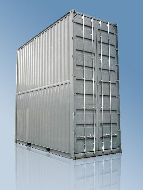 Container for flydeler
