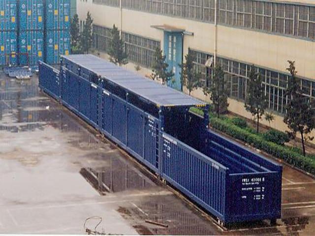Container for Vindmølleblad