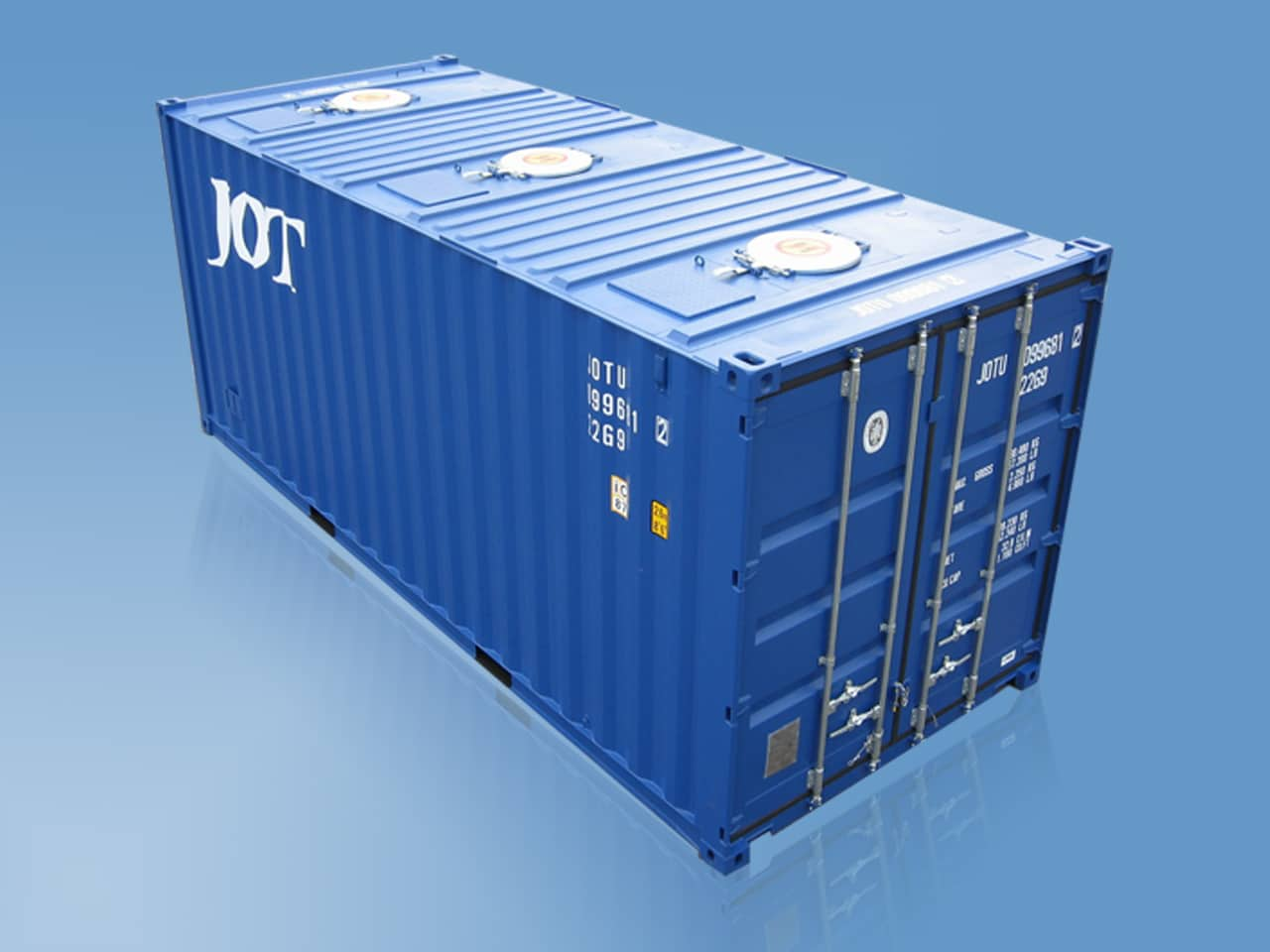JOT 20′ Bulkcontainer