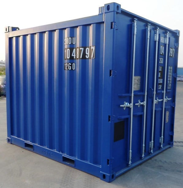 10ft Corrugated Panel Container