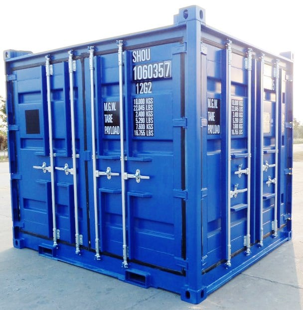 10ft Open Side Container