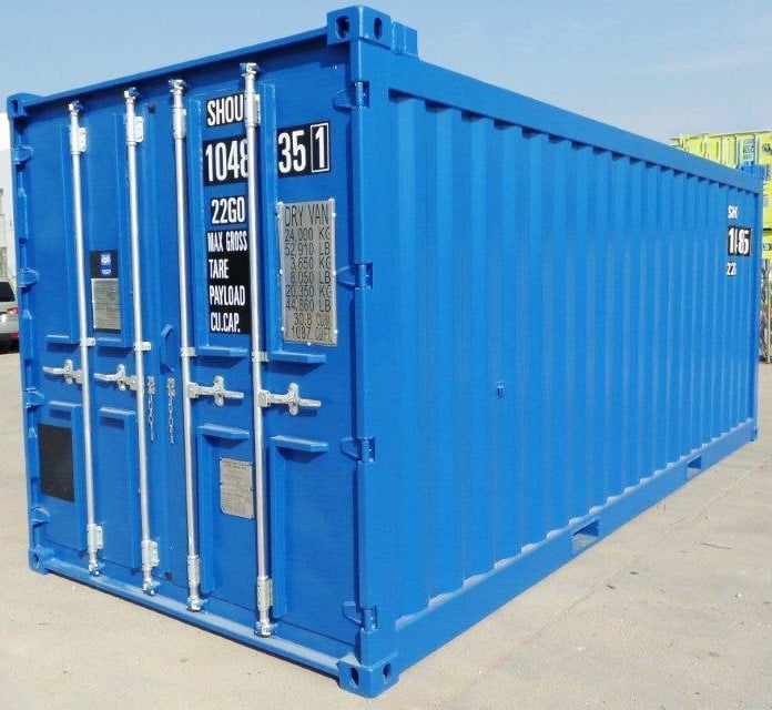 20ft Corrugated Container