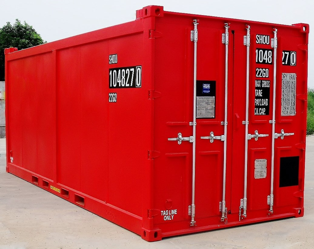 20ft Flat Panel Container