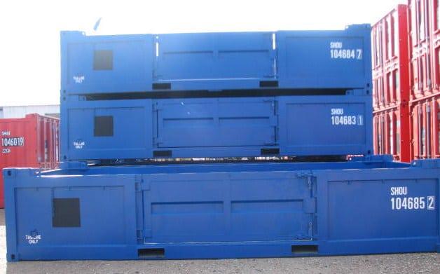 20ft H H – Side Door Container