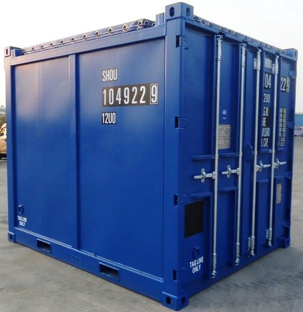 10ft Open Top Tarp Container
