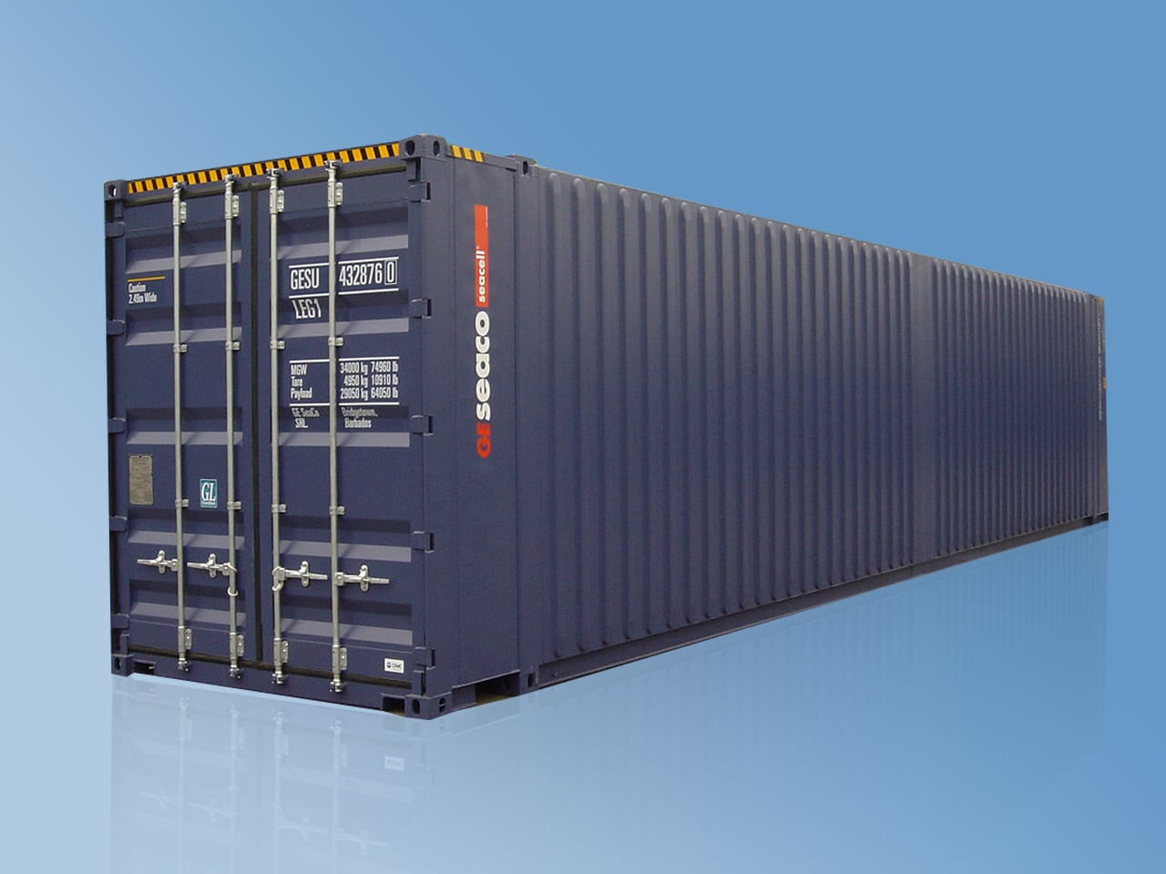 Seacell Pallebred Container