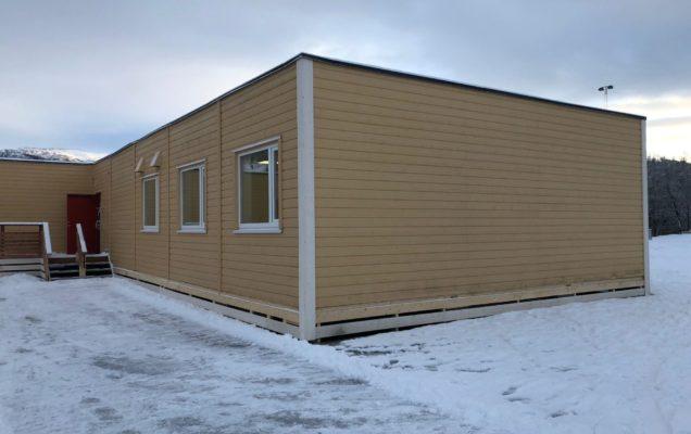 Midlertidig skolebygg til Voss kommune