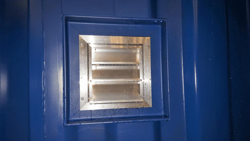 kondens i containere ventilasjon