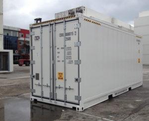 HC/PW kjøl/frys/varme-container