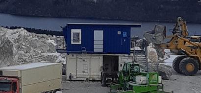 Spennende ombyggingsprosjekt med skuddsikkert sikkerhetsglass for Visnes Kalk