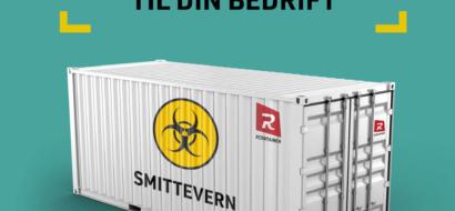 Containere til smittevern og smittekontroll mot coronaviruset