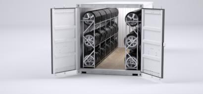 20 og 40 ft. dekkcontainer