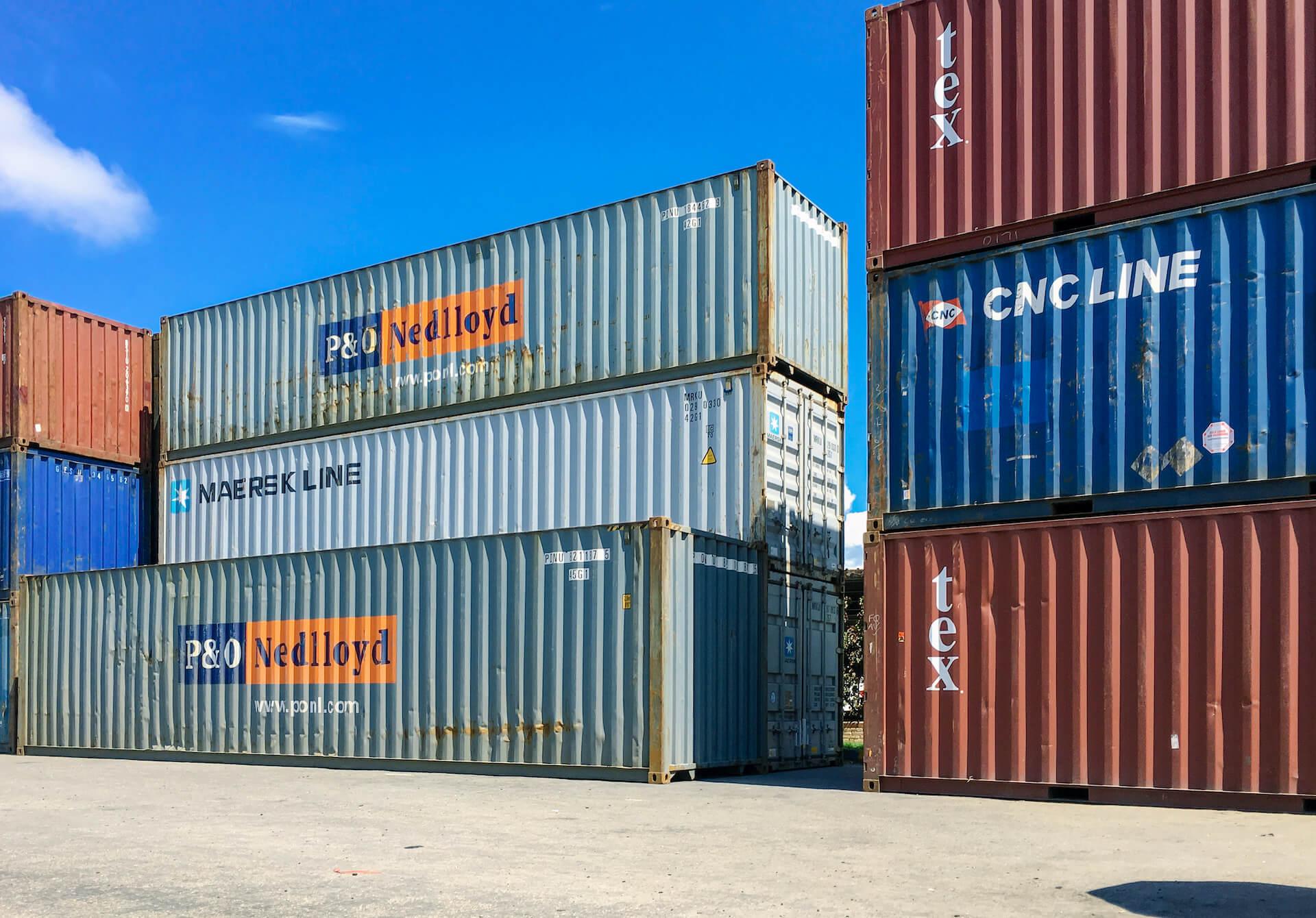Brukte containere